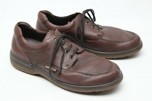 Mephisto Mens Shoes 10.5 D Brown Leather Hydra Protect Air Jet Casual Lace Up