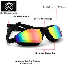UGI Anti-fog UV Waterproof Racing Swim Swimming Goggles Glasses Adjustable Adult