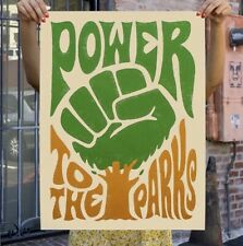 Shepard Fairey (OBEY) / Studio Number One - Power To The Parks