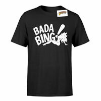 Bada Bing Strip Club Inspired by The Sopranos Soft Cotton T-Shirt