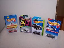HOT WHEELS - 4 CAR VARIATION LOT  - 3 CORVETTES & 1 TOYOTA 2000 GT - NEW
