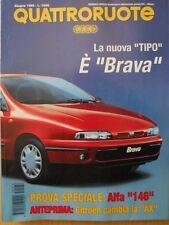 Quattroruote 476 1995 - Test speciale : ALFA 146 con poster    [Q38]