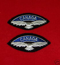 ROYAL CANADIAN AIR FORCE  Cloth Shoulder Flashes