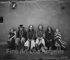 John K. Hillers Photo, group of albino native Americans
