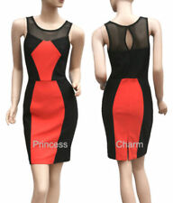 Knee Length Stretch Solid Dresses for Women