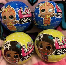 LOL Surprise Boys Series 2 + 3 Sealed Lot Of 4x Balls MGA Authentic Fast Ship!