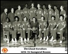 NBA 1970 -71 Cleveland Cavaliers temporada inaugural equipo Foto Foto Foto 8 X 10