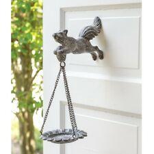 Flying Squirrel Cast Iron Bird Feeder