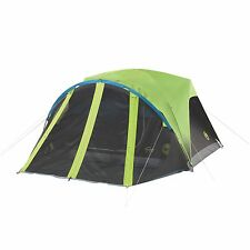 Coleman Carlsbad 4-Person Dome Dark Room Tent with Screen Room New