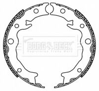 Borg & Beck Brake Shoe Set Shoes BBS6498 - BRAND NEW - GENUINE - 5 YEAR WARRANTY