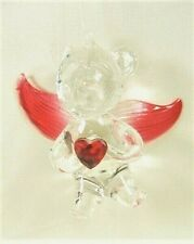 Bear w/Wings Ornament Christmas Holiday Decoration (Red)