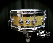 DW Collector's 6 x 14 Gold Glass Edge Snare Drum