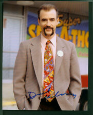 DERMOT MULRONEY SIGNED 8X10 COLOR PHOTO WITH HUGE MUSTASCHE