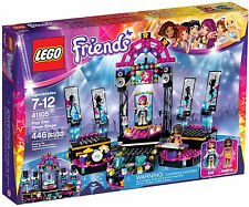 LEGO Friends - 41105 POP STAR show stage/show stage con Andrea & Livi-NUOVO OVP