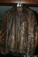 1940's Men's Brown Horsehide Jacket - Size 42