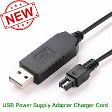 USB DC Power Adapter Battery Charger Cord For Sony DSC-HX1 DSC-HX100 DSC-HX100V