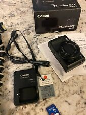 Canon PowerShot G7 X Mark II Digital Camera With 2 Batteries, Joby Grip, Etc