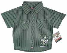Short Sleeve Striped Shirts (2-16 Years) for Boys