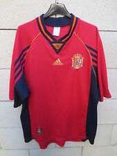 VINTAGE Maillot ESPAGNE Adidas ESPANA camiseta World Cup 98 Spain shirt L trikot