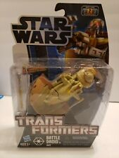 B9 Transformers star wars battle droid to aat hasbro new rare action figure