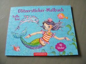 NEU Glitzersticker - Malbuch Nella Nixe Spiegelburg Coppenrath