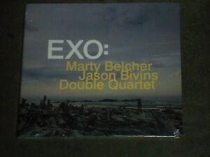 Marty Belcher Jason Bivins Double Quartet EXO (CD, 2013, Public Eyesore) sealed