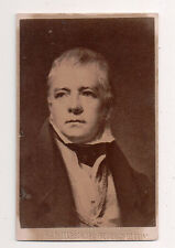 Vintage CDV Sir Walter Scott,1st Baronet,Scottish historical novelist, playwrite