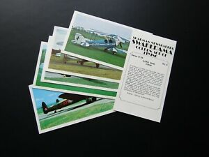 Sharman Newspapers 1979 Swaparama Golden Age of Flying Card Variants (E33)