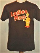 retro Ladies Man HOMER SIMPSON The Simpsons T-shirt, Mediuim