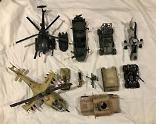 Huge lot of bbi Elite Force 1 18 figures, vehicles and weapons.