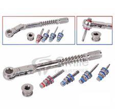 Dental Implant Torque Wrench Ratchet 10-40N cm & 4 x Drivers Set Dentale legacy