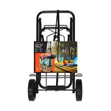 Heavy Duty Camping Festival Kit Trolley Steel Trolley 50KG Load Luggage Trolly,
