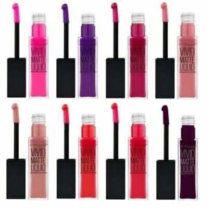 MAYBELLINE Color Sensational Vivid Matte Liquid Lipgloss 8ml  - various shades