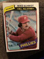 1980 Topps #270 Mike Schmidt Philadelphia Phillies Baseball Card
