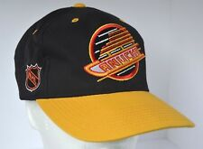 46f87ddc7c78e2 Vintage 90s Authentic Sports Specialties NHL Vancouver Canucks Snapback Hat  Cap