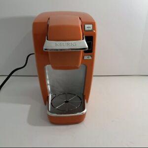 Keurig B31 Mini Plus Coffee Maker Brewing System, Orange. Tested/ Works