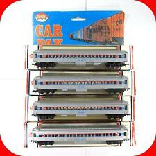 N Scale MODEL POWER Amtrak Passenger Car 4-Pak - Coach / Pullman 4-Pack - 8623-4