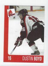 2004-05 Moose Jaw Warriors (WHL) Dustin Boyd (Barys Nur-Sultan)