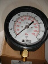 NEW WEISS INSTRUMENTS PROCESS PRESSURE GAUGE NF4UGY-160-4L