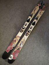New listing Rossignol S90W All Mountain Rocker 150cm Womens Girls Skis Saphir 3-11 Bindings
