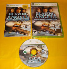 BLAZING ANGELS SQUADRONS OF WWII XBOX 360 Versione Italiana 1ª Ed ○ COMPLETO AE