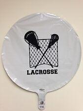 Lacrosse Balloon & Lacrosse Cupcake Liner