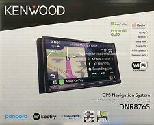 "New Kenwood Dnr876S, 6.95"" Wvga Navigation Media Car Receiver, Garmin Navigation"