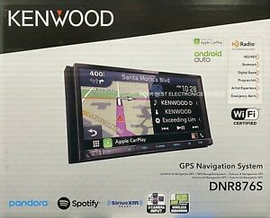 "NEW Kenwood DNR876S, 6.95"" WVGA Navigation Media Car Receiver, Garmin Navigation"