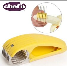 Bananza - Hand Held Banana Slicer CUTTER KNIFE by Chef'n - Lemon Yellow