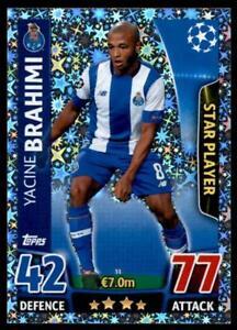 Match Attax Champions League 15/16 Yacine Brahimi Porto No. 31