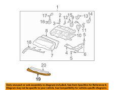 BMW OEM 325Ci Headlight Head Light Lamp-Lower Molding Trim Right 51138208680