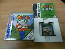 Mario Golf - Game Boy Color - Gameboy GBC GB - PAL ESPAÑA