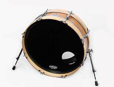 "Small Compact Bass Drum 6"" x 22"" Skinny Bass Drum Pro - Burnt Orange Finish"