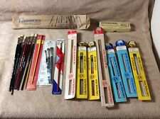 Lot of 21 NOS Art Artist Paint Brush Most Grumbacher Camel Ox Red Sable Charcoal